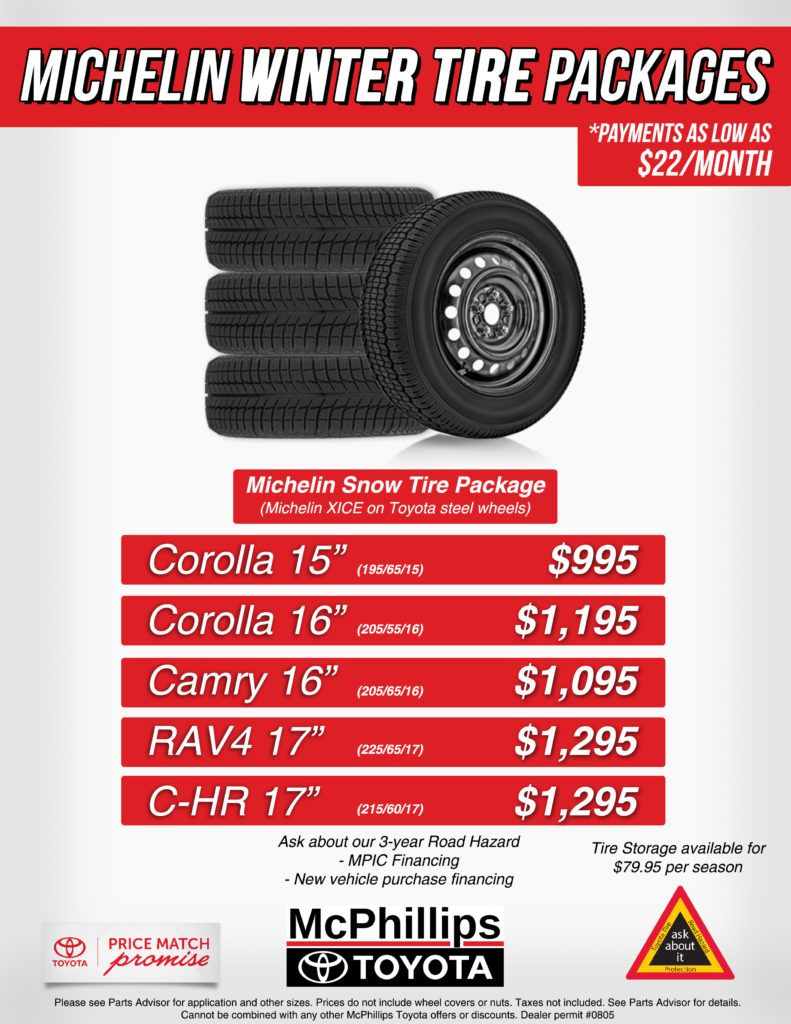 Michelin Winter Tire Packages
